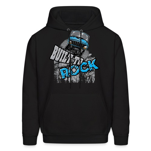 Jeeps Built to Rock - Men's Hoodie