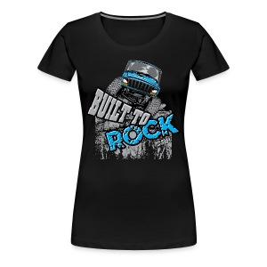 Jeeps Built to Rock - Women's Premium T-Shirt