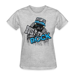 Jeeps Built to Rock - Women's T-Shirt