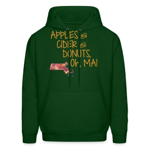Apples & Cider & Donuts, Oh, MA! - Men's Hoodie
