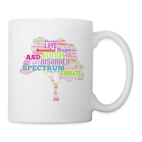 Multi-Color Autism Tree - Mug - Coffee/Tea Mug