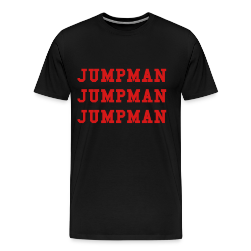 Jumpman T-Shirt - Men's Premium T-Shirt