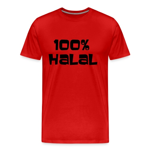 Halal T shirt - Men's Premium T-Shirt