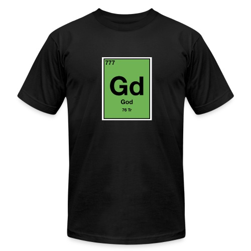 god element tee - Men's Fine Jersey T-Shirt