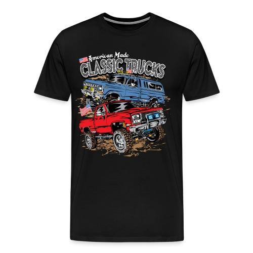 Classic Trucks USA - Men's Premium T-Shirt
