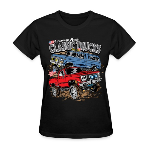 Classic Trucks USA - Women's T-Shirt