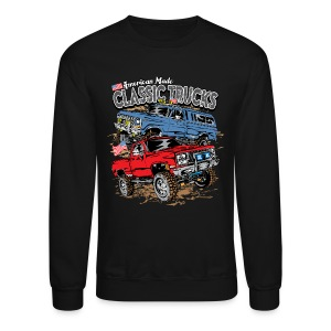 Classic Trucks USA - Crewneck Sweatshirt