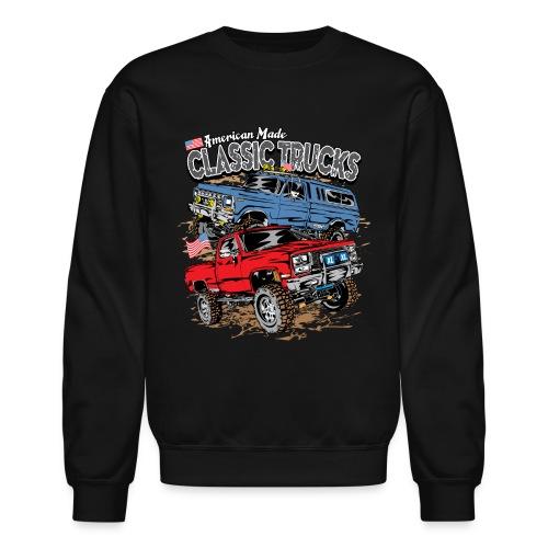 Classic Trucks USA - Crewneck Sweatshirt