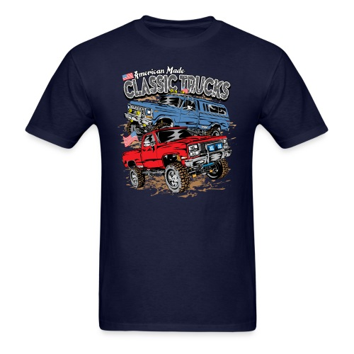 Classic Trucks USA - Men's T-Shirt