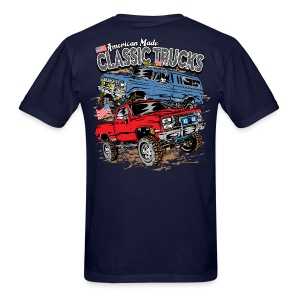 Classic Trucks USA BACK - Men's T-Shirt