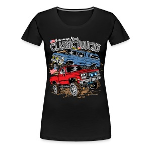 Classic Trucks USA - Women's Premium T-Shirt