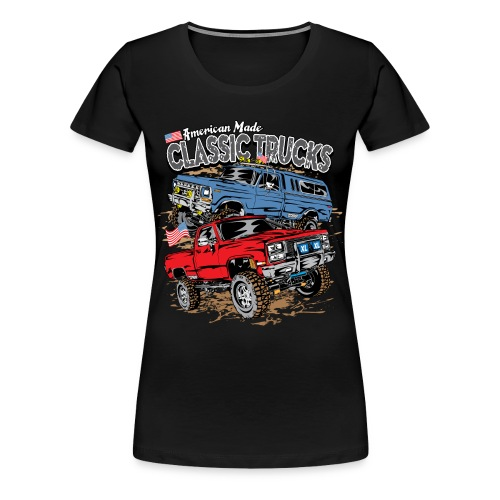 Classic Trucks USA - Women's Premium T-Shirt