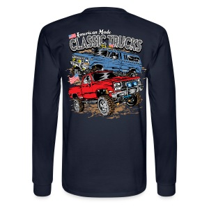 Classic Trucks USA BACK - Men's Long Sleeve T-Shirt