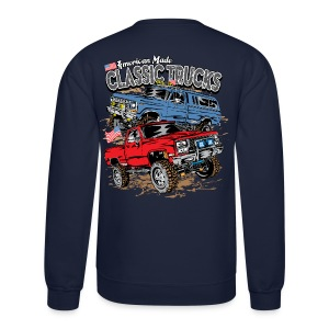 Classic Trucks USA BACK - Crewneck Sweatshirt