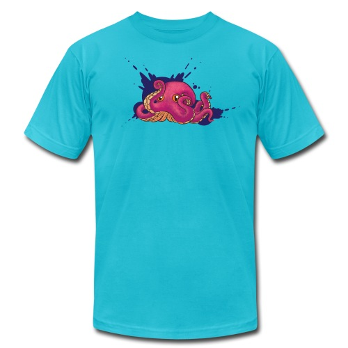 Octopus - Men's Fine Jersey T-Shirt