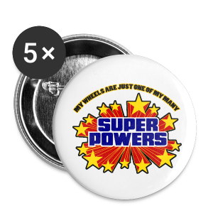 Superpowers Button - Large Buttons