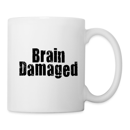 Brain Damaged Cup - Coffee/Tea Mug