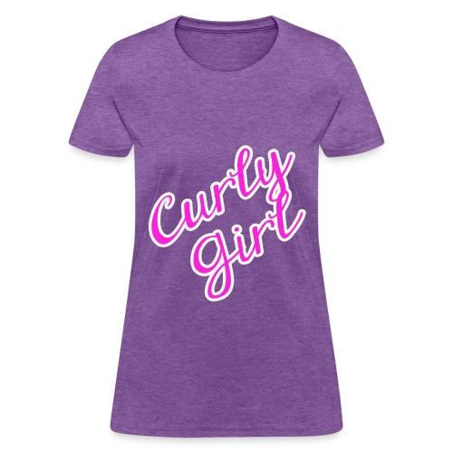 Curly Girl - Women's T-Shirt