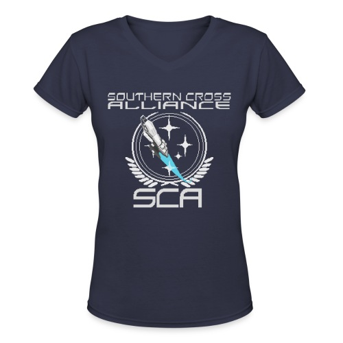 Retro SCA Women's T-shirt - Women's V-Neck T-Shirt