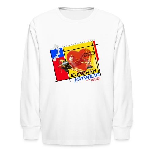 CHILDHOOD HEROES - front print -xs/l kids - Kids' Long Sleeve T-Shirt