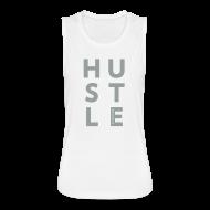 Tanks ~ Women's Flowy Muscle Tank by Bella ~ Hustle Muscle Tank