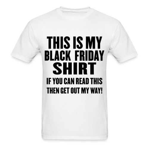 Black Friday Shirt - Men's T-Shirt