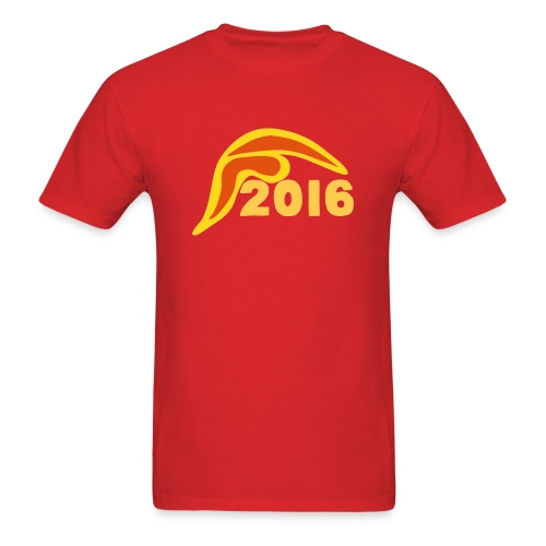 Men's Donald Trump Hair 2016 T-Shirt Red - Men's T-Shirt
