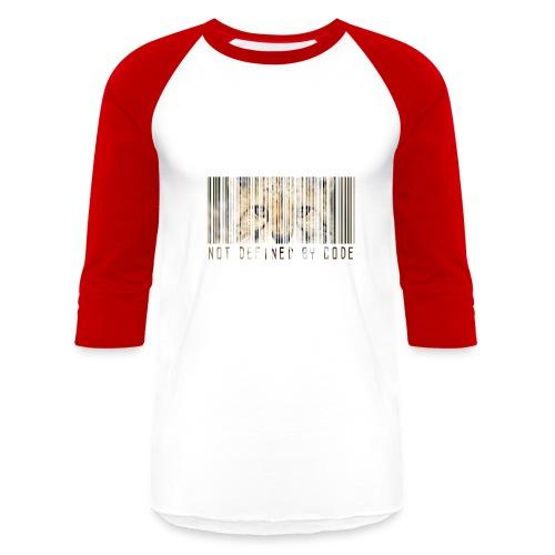 Barcode Cheetah Jersey - Baseball T-Shirt