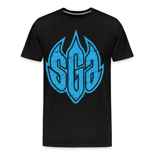 SmashGame Athletics Shield Tee - Men's Premium T-Shirt