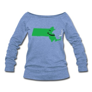 Puff Puff Mass - Women's Wideneck Sweatshirt
