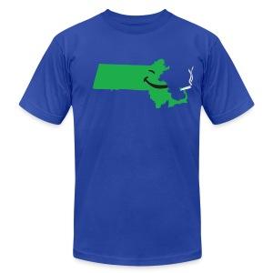 Puff Puff Mass - Men's Fine Jersey T-Shirt
