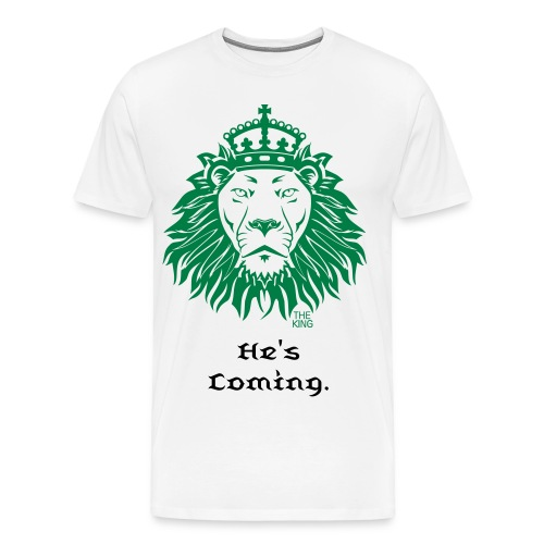 FaithLine The King Is Coming - Men's Premium T-Shirt