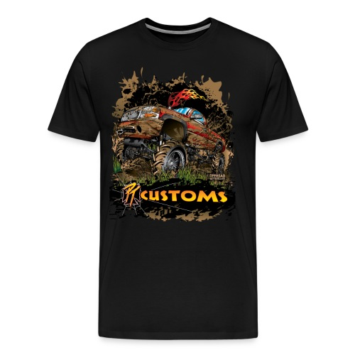 PT Customs - Men's Premium T-Shirt