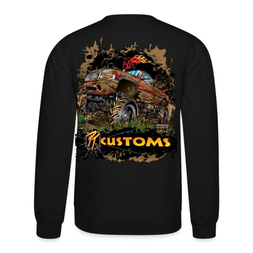 PT Customs BACK - Crewneck Sweatshirt