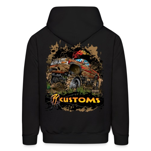 PT Customs BACK - Men's Hoodie