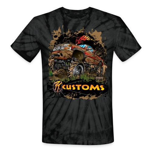 PT Customs - Unisex Tie Dye T-Shirt