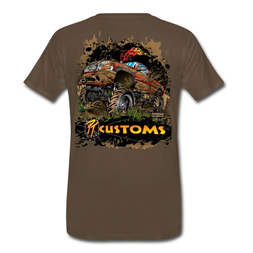 PT Customs BACK - Men's Premium T-Shirt