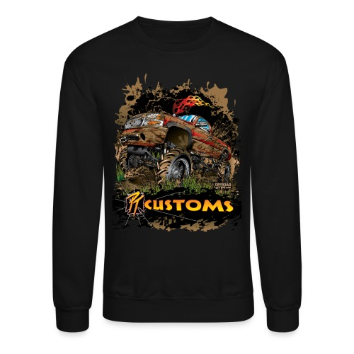 PT Customs - Crewneck Sweatshirt