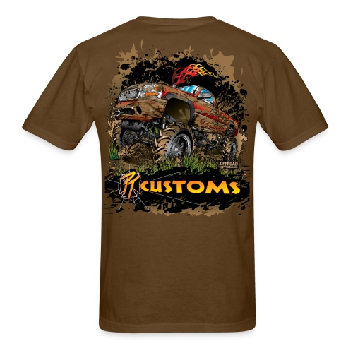 PT Customs BACK - Men's T-Shirt