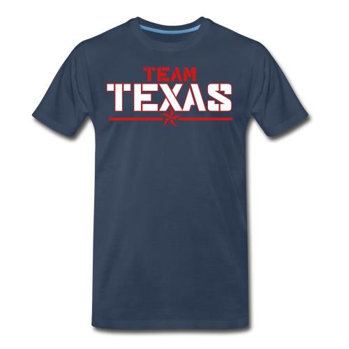 Men's Team Shirt (Blue) - Men's Premium T-Shirt