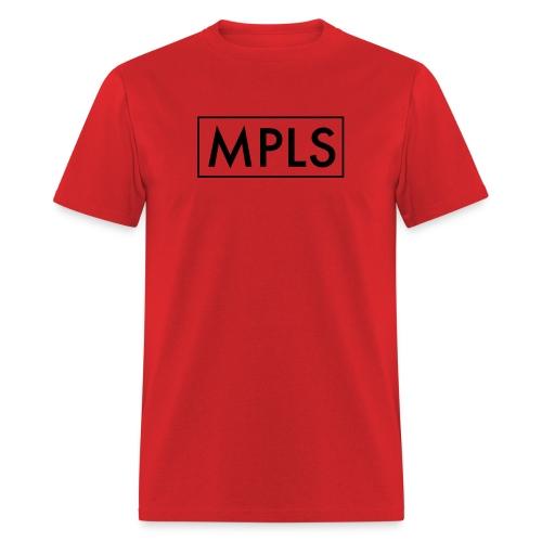 MPLS (Minneapolis) Red - Men's T-Shirt