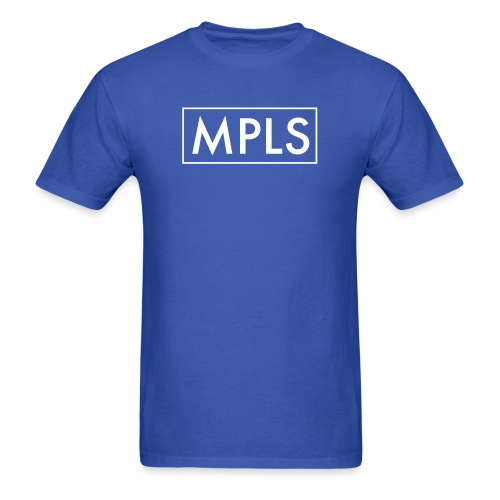 MPLS (Minneapolis) Blue - Men's T-Shirt