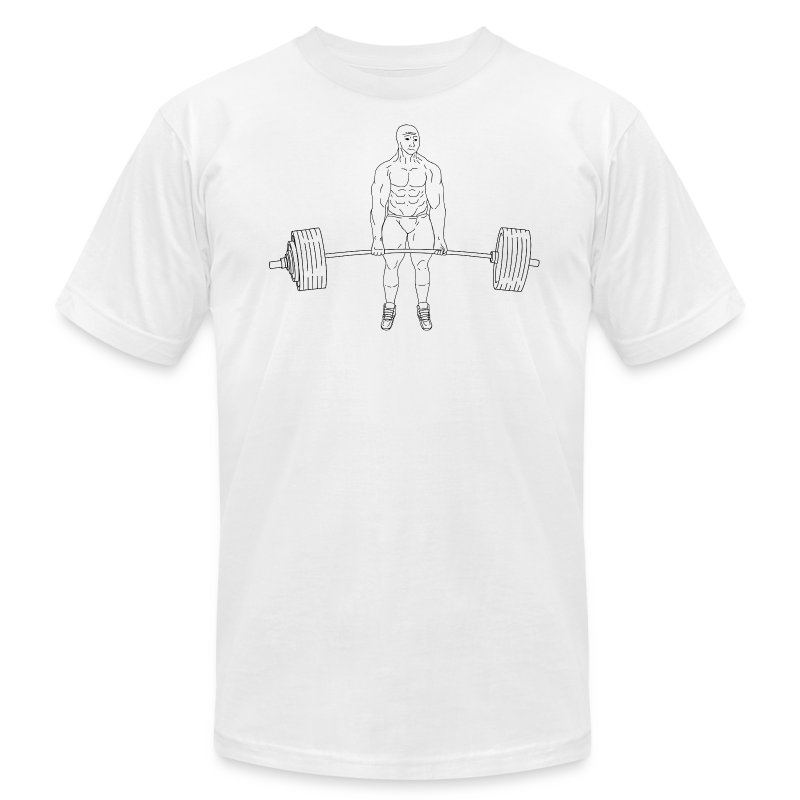 DL6PLUSBUTNOGF - Men's T-Shirt by American Apparel