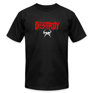 DESTROY - Men's T-Shirt by American Apparel