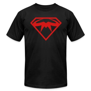 Super MASS Dark Side - Men's T-Shirt by American Apparel