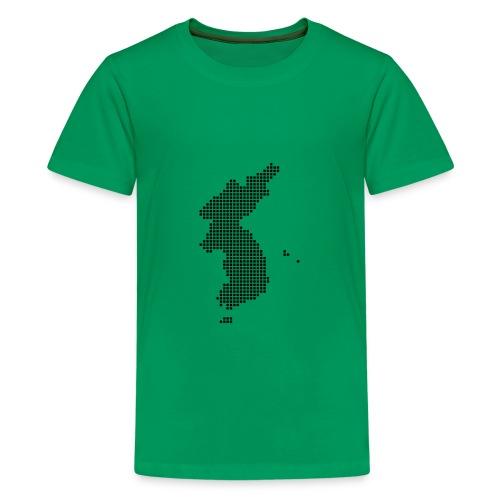 Pixel Korea Map T-Shirt for Kids - Kids' Premium T-Shirt