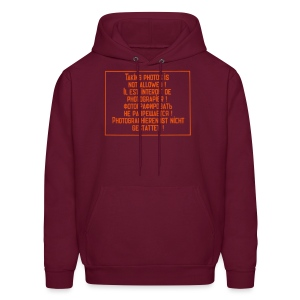 No photography allowed - Men's Hoodie