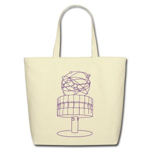 World time clock Berlin - Eco-Friendly Cotton Tote