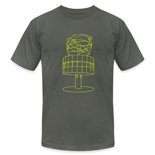 World time clock Berlin - Men's Fine Jersey T-Shirt