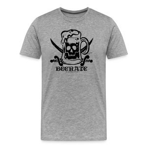Beerate - black - Men's Premium T-Shirt